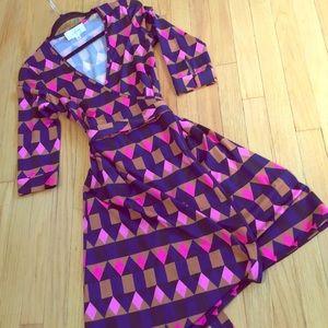 Julie Brown Geometric Print Wrap 6